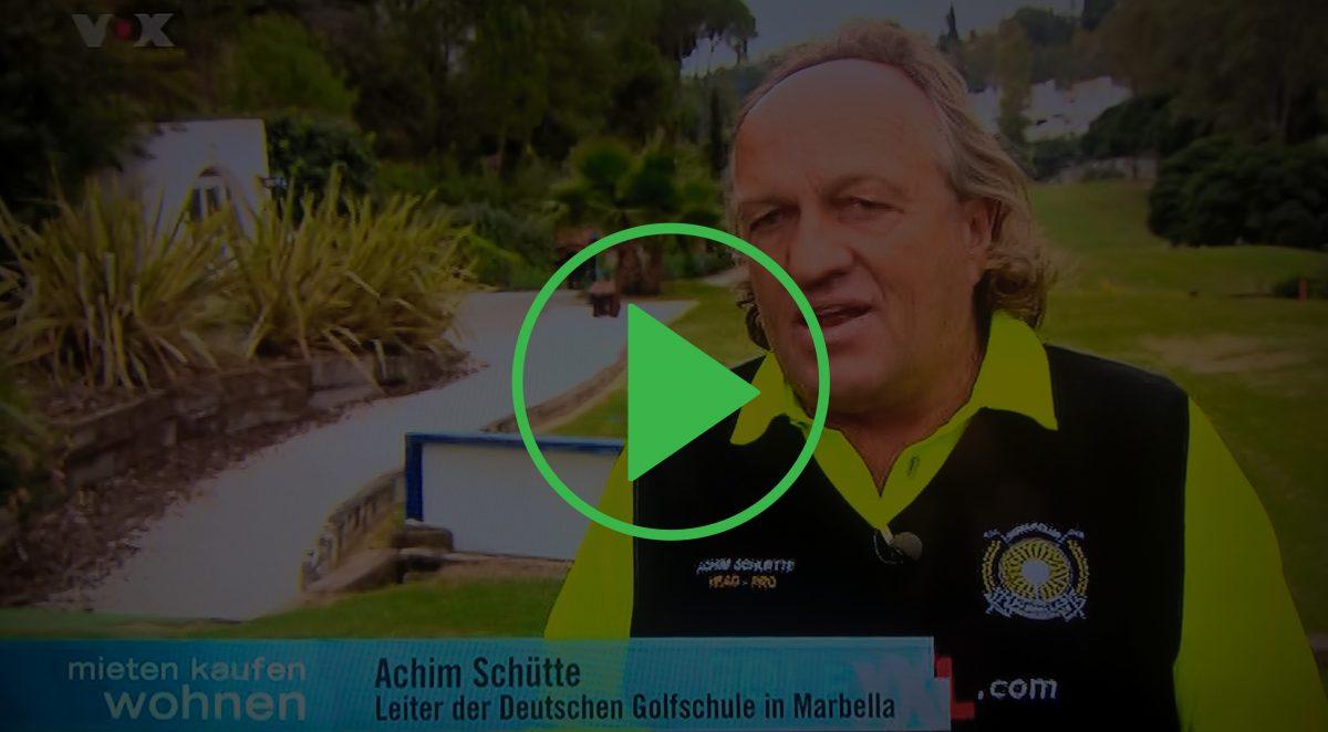 Achim Schütte auf Vox - Mieten Kaufen Wohnen - Marbella